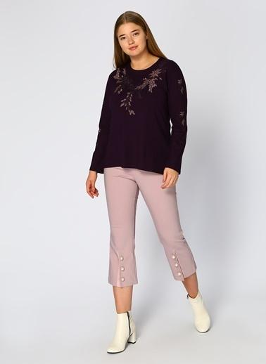 Random Pantolon Lila